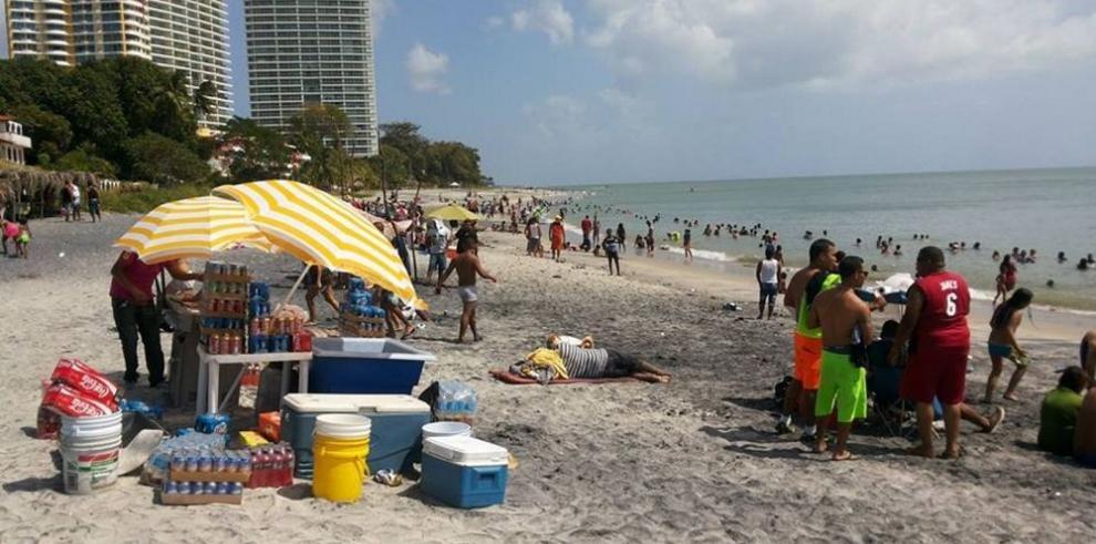 Prohibida la entrada de buses a playas de Panamá Oeste