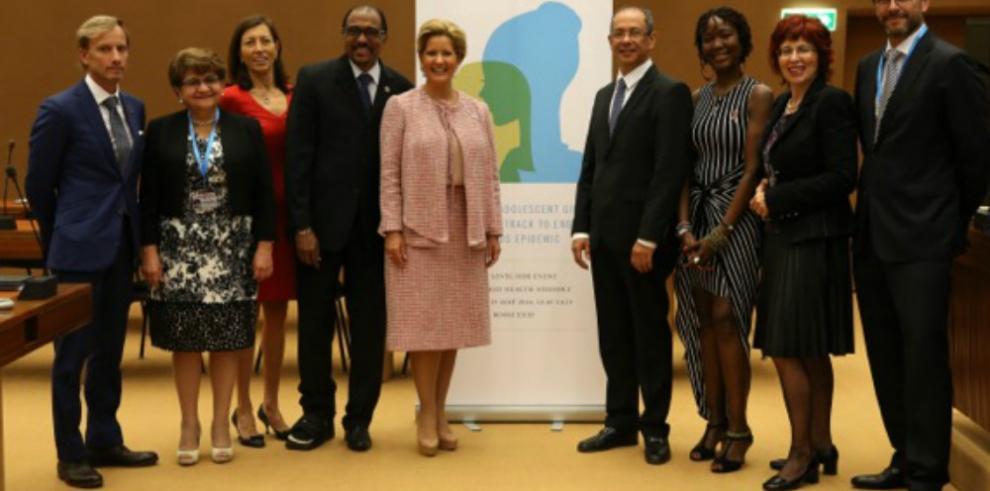 Primera Dama aboga por la igualdad de género en la lucha contra el VIH