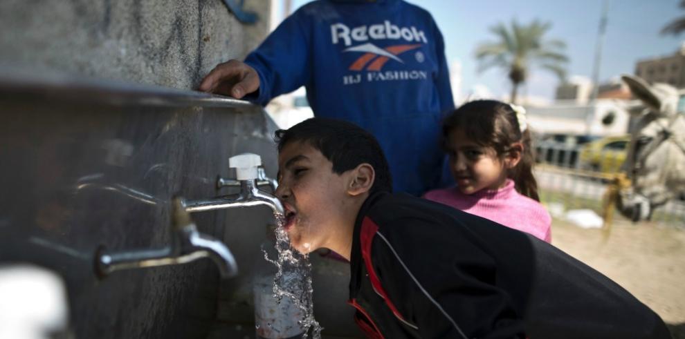El 95% del agua en Gaza está contaminada