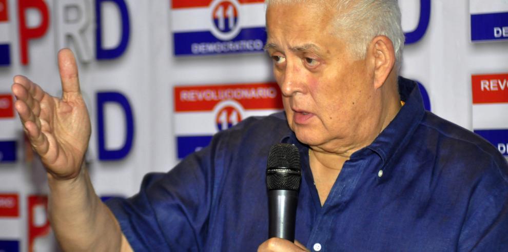 Pérez Balladares dice que nueva esclusa debe llamarse Omar Torrijos