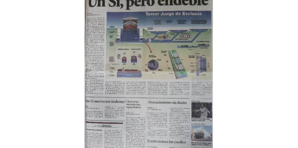 """""""El día en que los panameños decidieron por el futuro del Canal"""""""