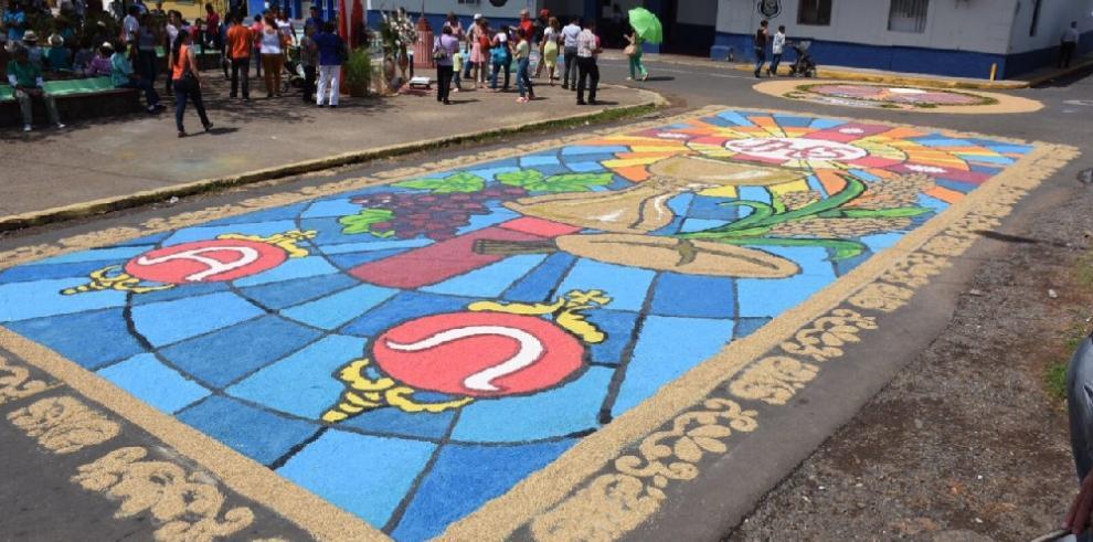La Villa de Los Santos vive el Corpus Christi