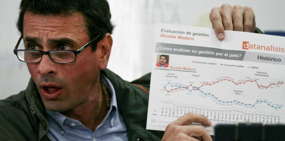 Opositores venezolanos desestiman decisiones de tribunales
