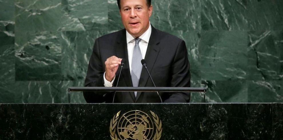 """""""Panamá hará su parte por los ODS"""", Varela"""