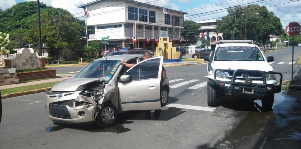 Se registra colisión de Chiriquí, hay una persona herida