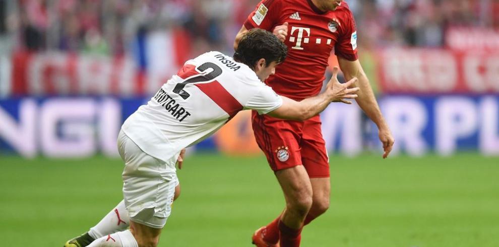 Bayern Múnich continúa con paso firme en Alemania