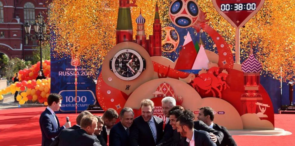 Cuenta regresiva para el Mundial de Rusia