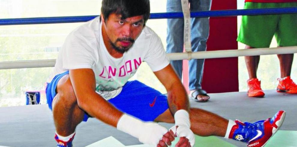 Pacquiao quiere otra pela y sanciones por dopaje para Mayweather