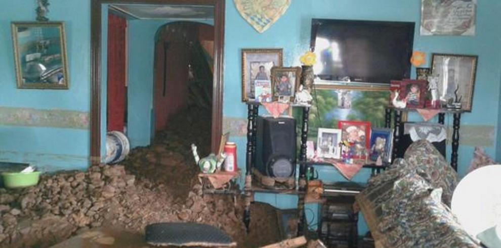 Más de 200 personas afectadas por las inundaciones registrada ayer