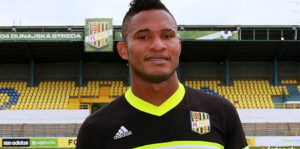 Panameño Eric Davis firmó contrato conel FC DAC de Eslovaquia