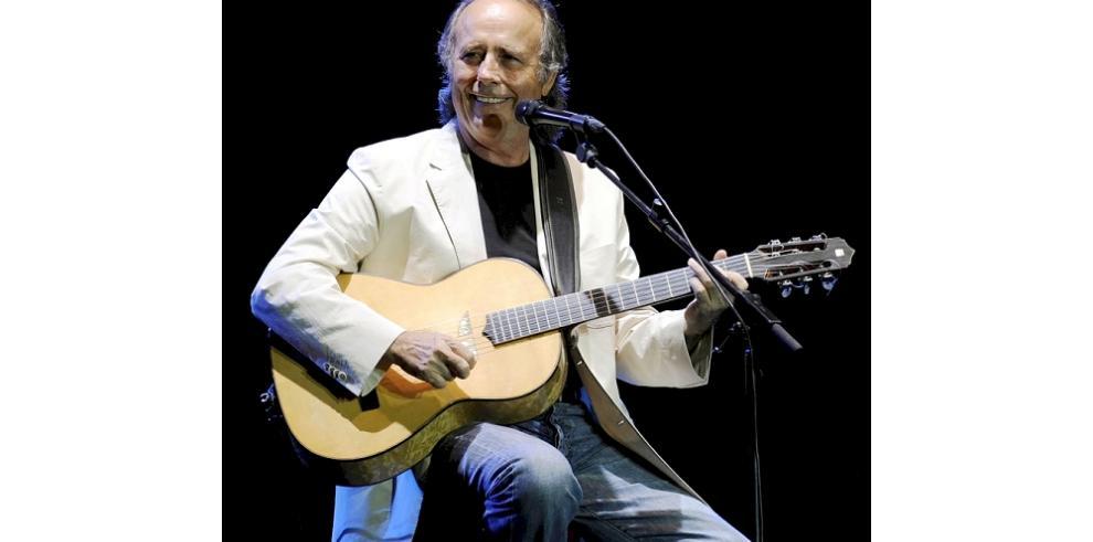 Serrat incluye a Panamá en la celebración de su carrera musical