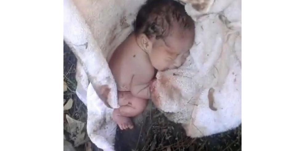 Abandonan a bebé en México