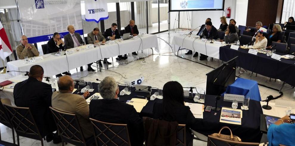 Comisión de reformas evalúa fuero electoral penal