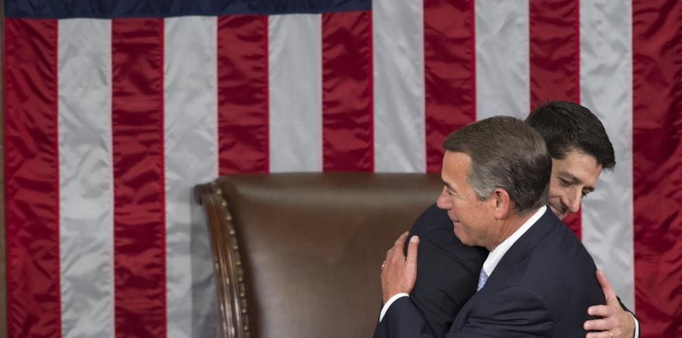 Paul Ryan elegido presidente de Cámara de Representantes de EEUU