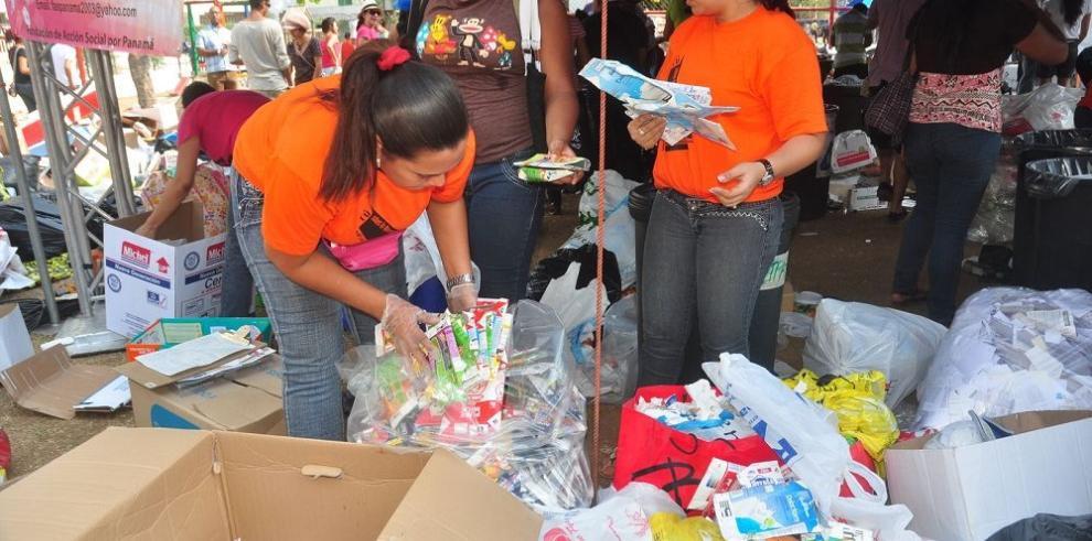 Panamá celebra, por primera vez, la Semana del Reciclaje