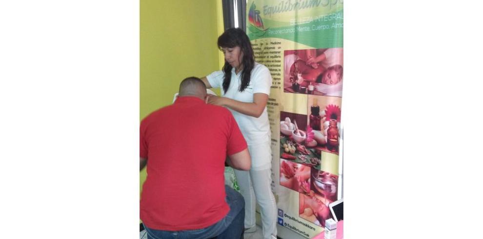 Feria de salud beneficia a colaboradores