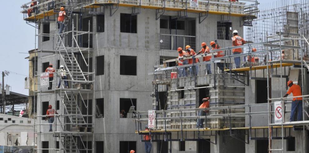 Un 7.8% creció el sector de la construcción en el primer trimestre