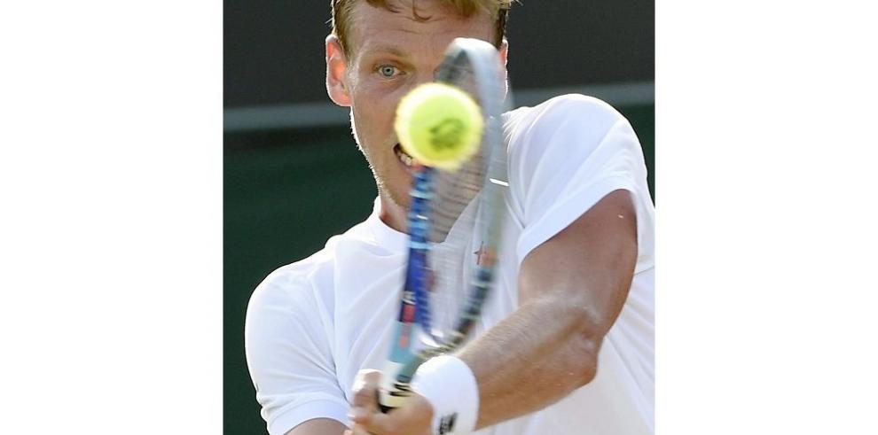 """Berdych a octavos en torneo """"Wimbledon"""""""