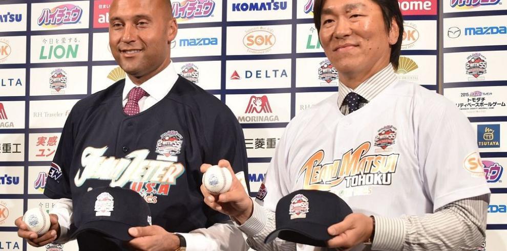 Jeter y Matsui volverán a jugar en partido benéfico
