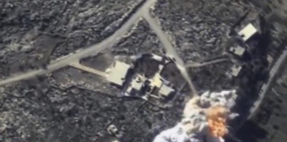 Siria afirma que su aviación ha destruido 673 blancos terroristas