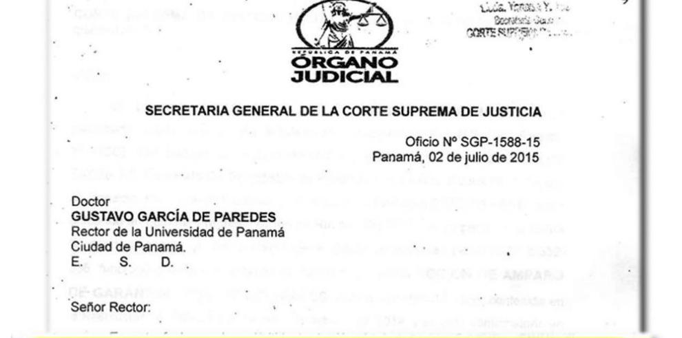 La Corte acoge otro amparo contra la UP