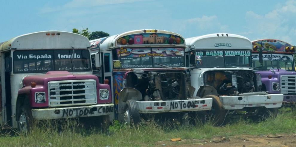 Divisiones y boicoteo enmarcan tercer paro de metrobús este año