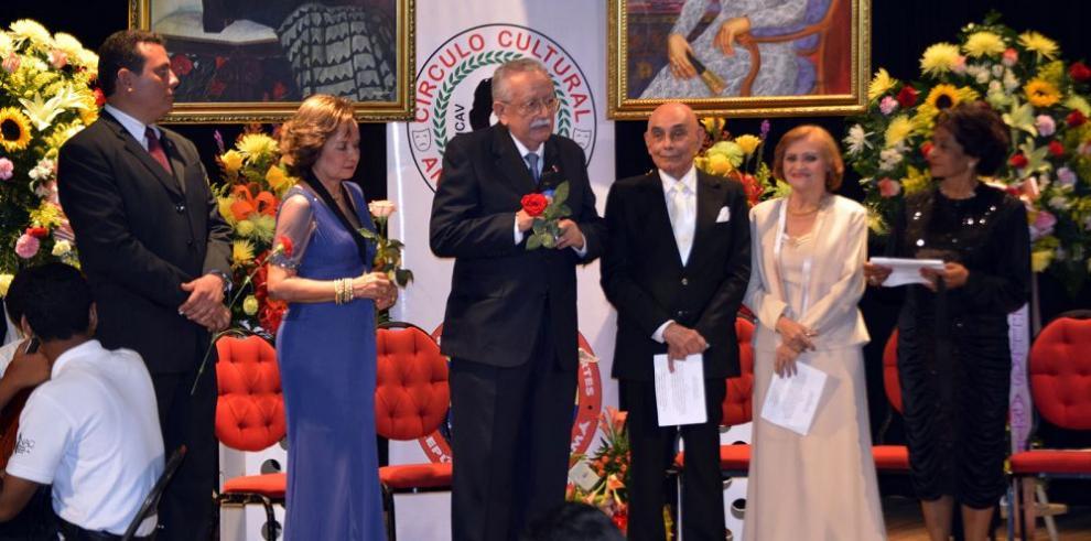 Homenajeados con los premios Anita Villalaz
