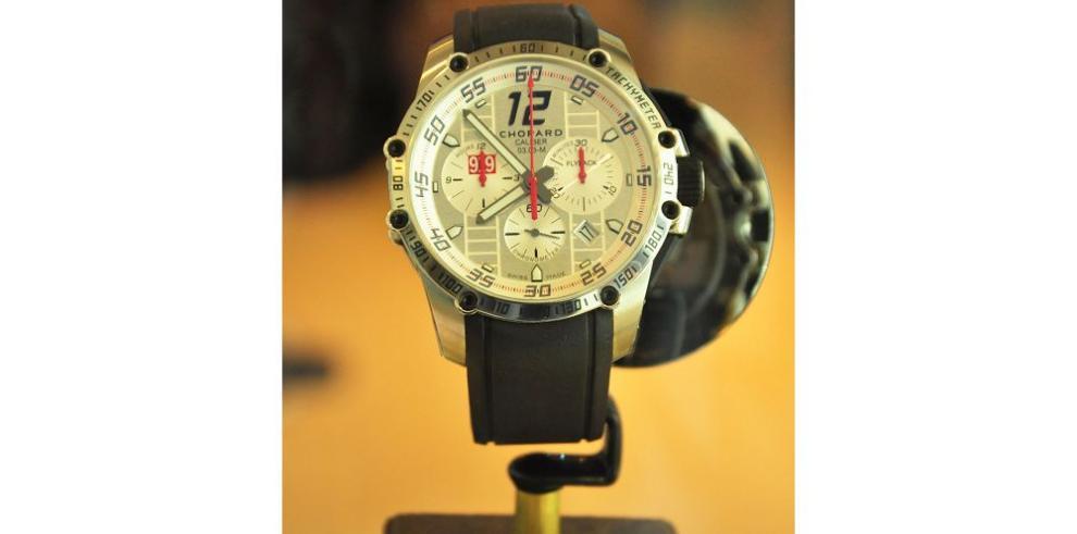 Presentan en Panamá un reloj Chopard edición Porsche 919