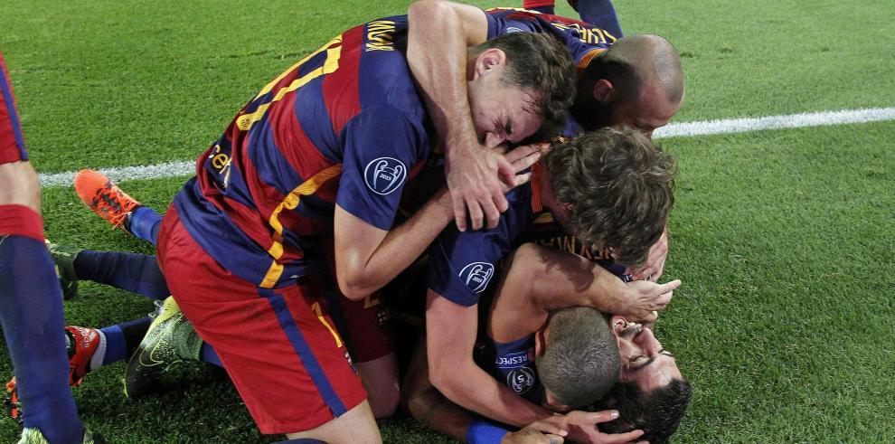 El Barcelona remonta sin Messi, al Leverkusen
