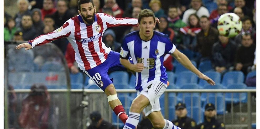 Atlético Madrid se afianza tercero