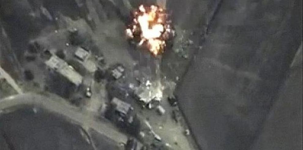 Rusia intensifica sus bombardeos en Siria