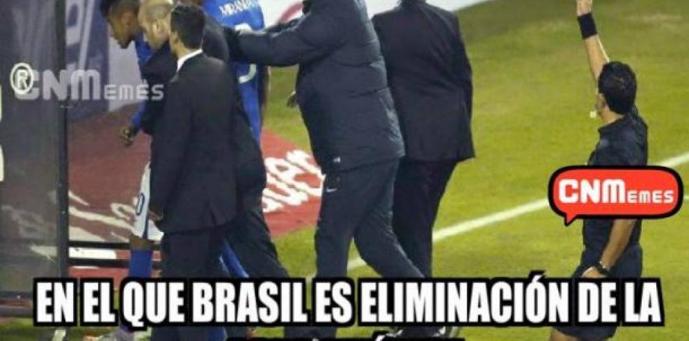 Memes que generó la derrota de Brasil