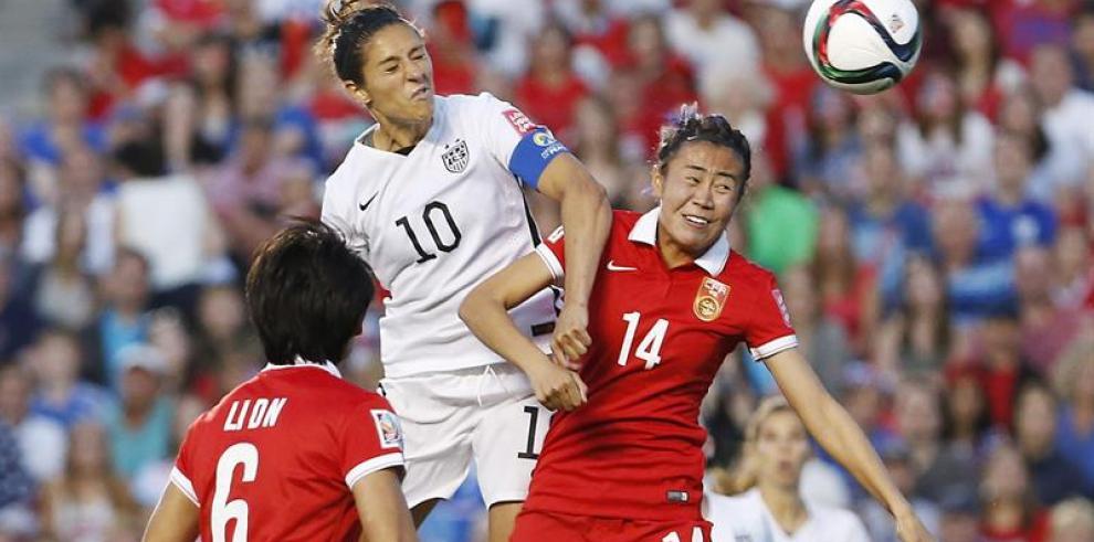 EE.UU. derrota por 1-0 a China y se cita con Alemania en semifinales