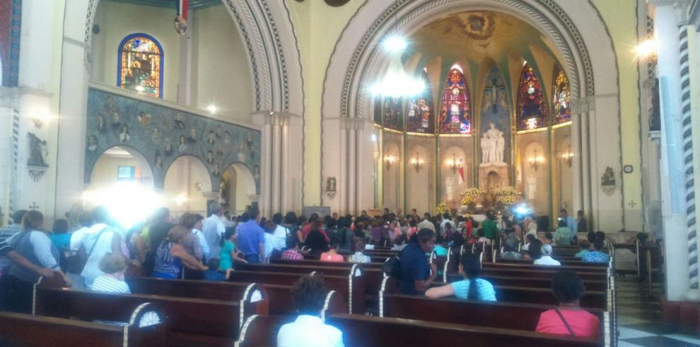 Reliquias de Juan Pablo II llegaron a la iglesia Don Bosco