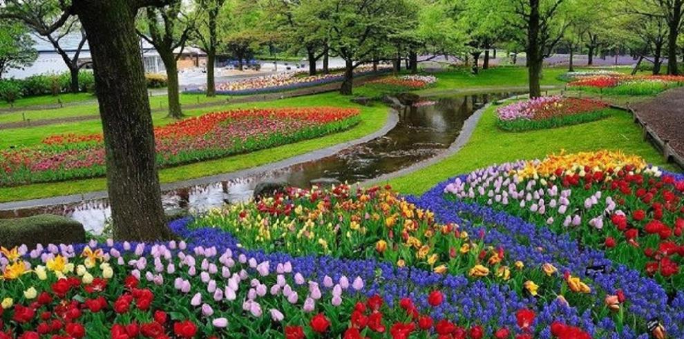 Impresionantes jardines en diferentes partes del mundo