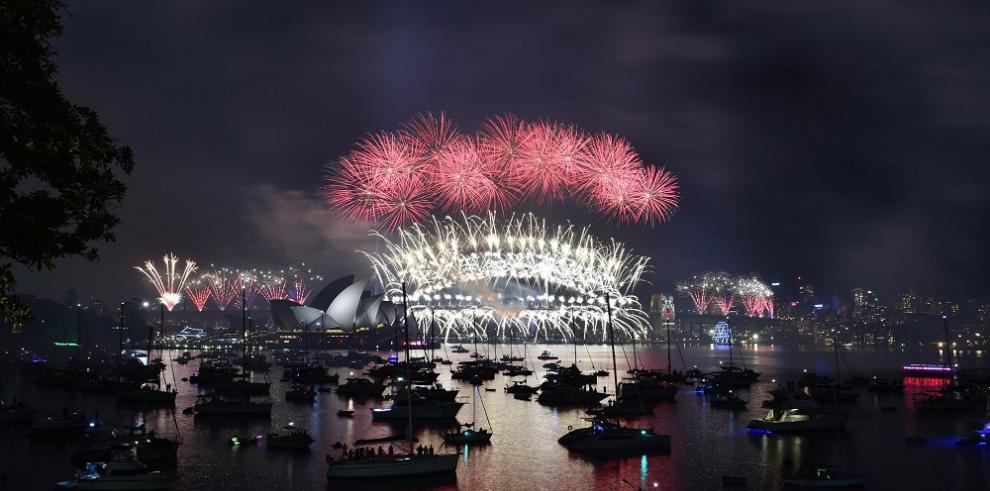 Así recibieron Australia y Nueva Zelanda el Año Nuevo 2016