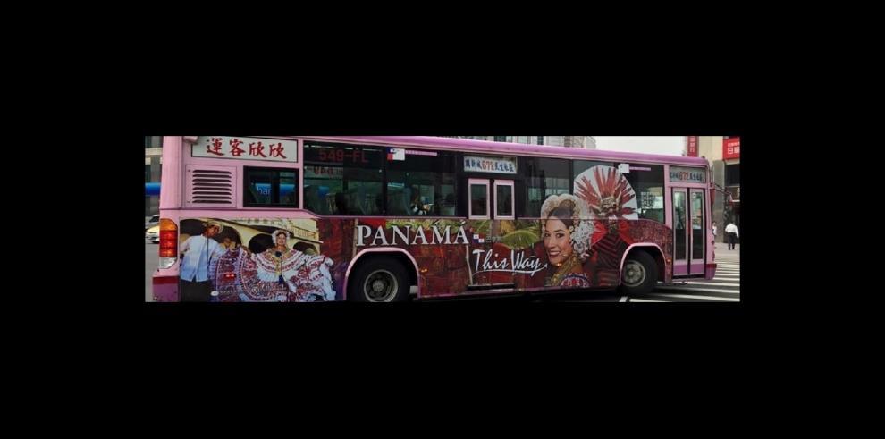 Transporte de Taipéi se vestirá de folclor panameño