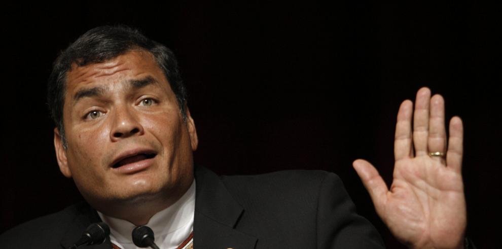 Presidente de Ecuador considera que Panamá es un paraíso fiscal
