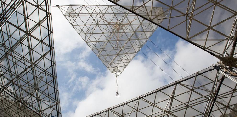 Mayor radiotelescopio del mundo, en etapa final