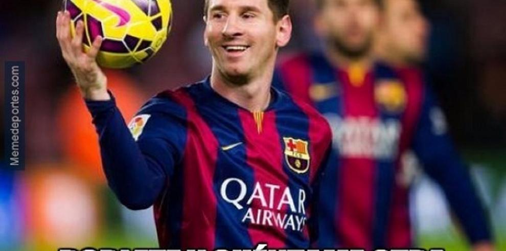 Memes del encuentro Barcelona vs Bayer Munich