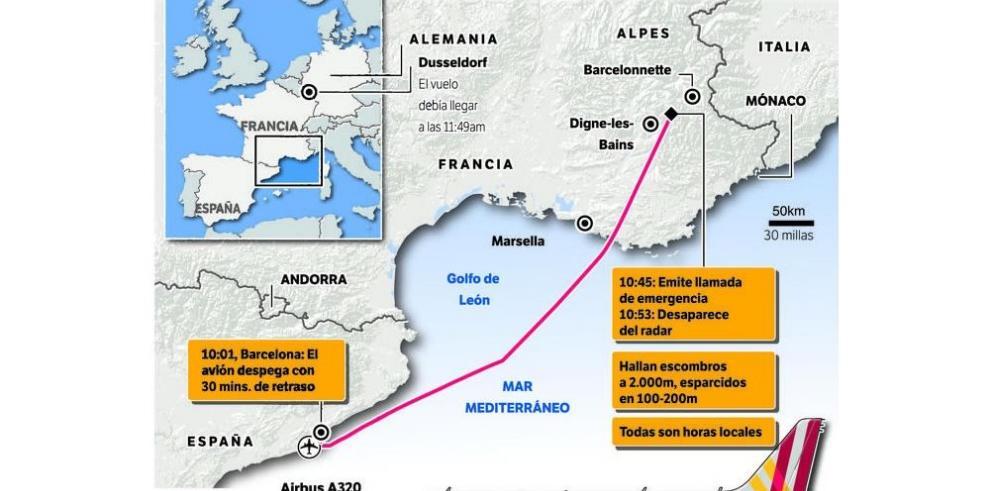 Tragedia en los alpes franceses