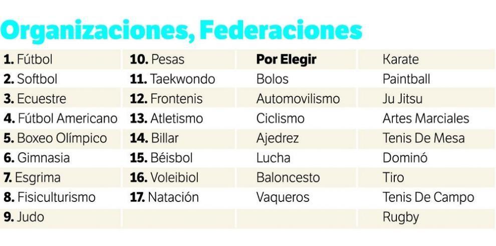 Solo 17 federaciones tienen nuevas directivas en Panamá