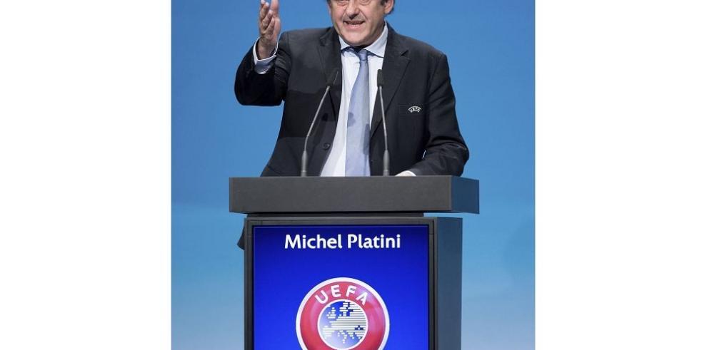 Platini fue reelegido presidente de UEFA