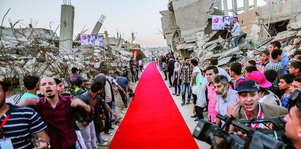 """Festival """"La Alfombra Roja"""" en Palestina"""