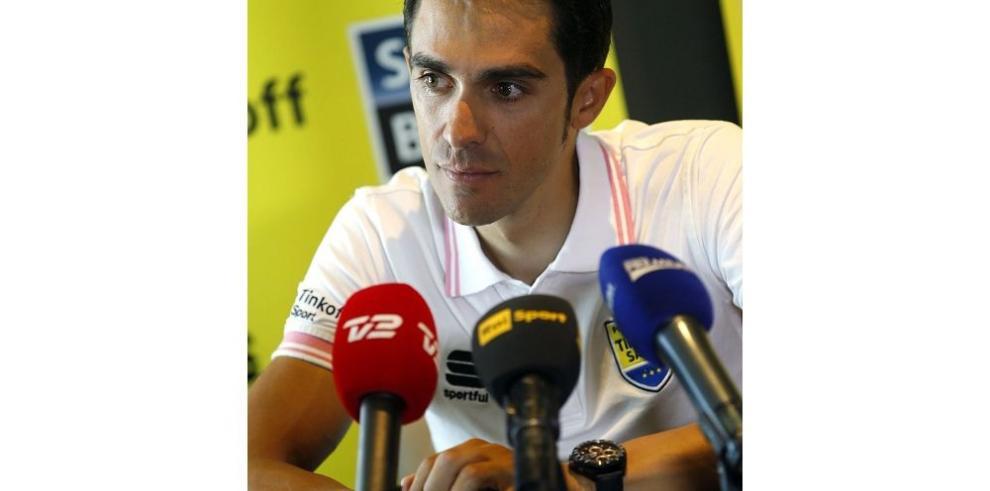 Contador dice que el Giro es muy fuerte