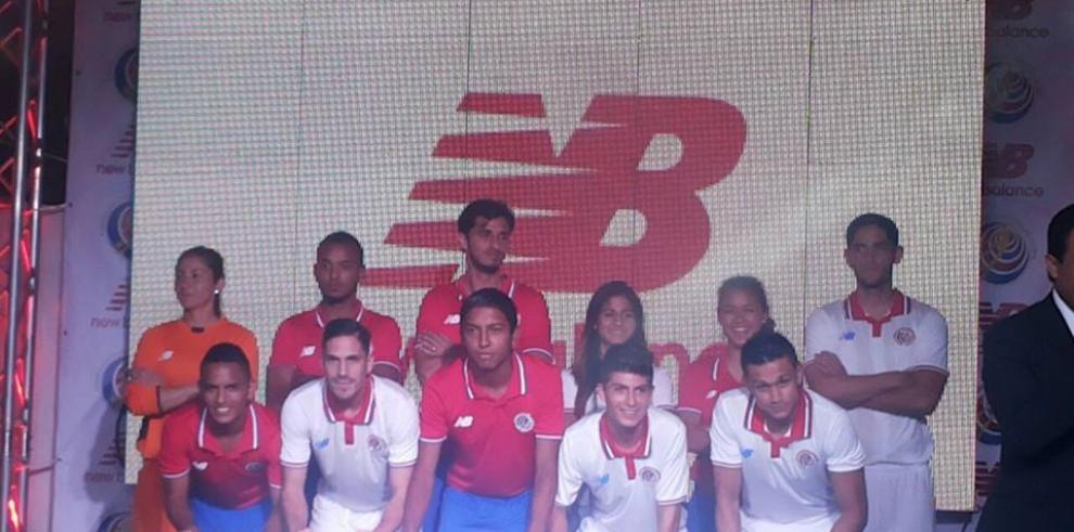 Selección de Costa Rica tiene nuevo uniforme de marca New Balance
