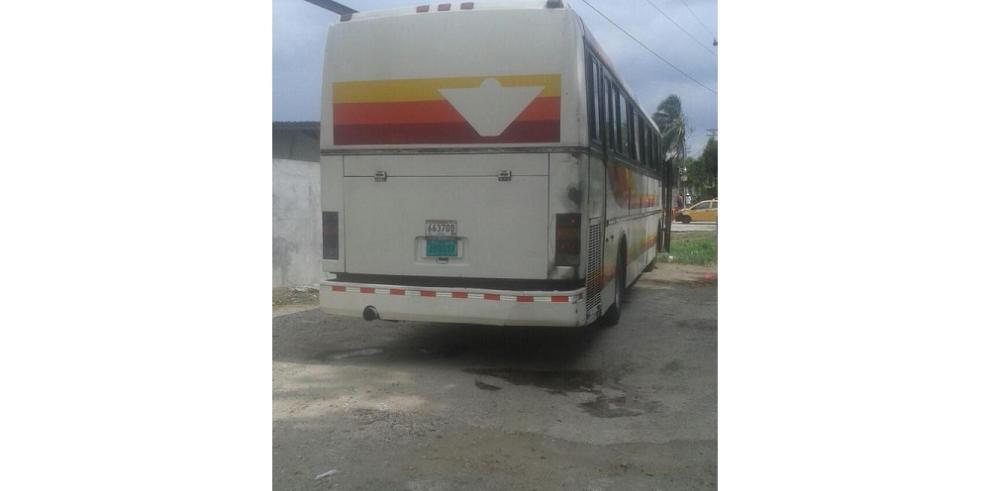 Roban a pasajeros de un bus Panamá-Colón en el corredor