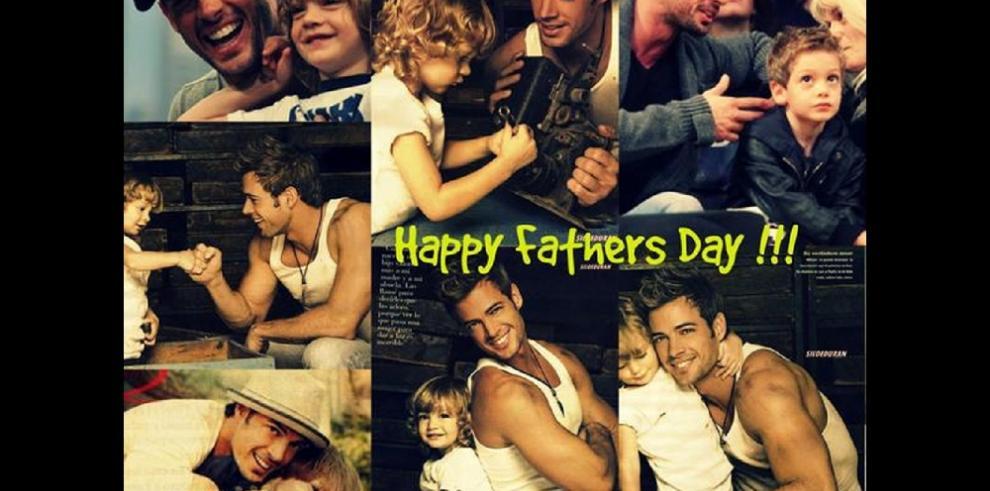 Papás famosos celebran su día