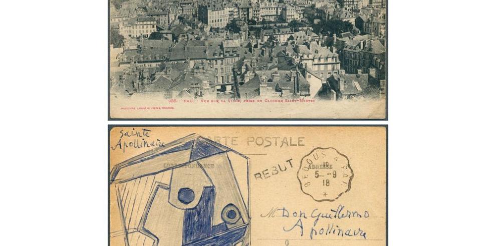 Subastada por 166,000 euros postal de Picasso