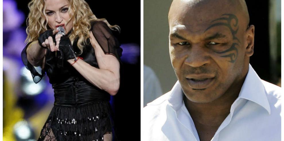 Mike Tyson colaborará en el nuevo disco de Madonna